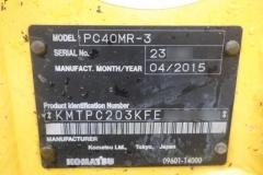 KOMATSU PC40MR-3
